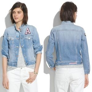 Madewell Jean Jacket Patchwork Edition